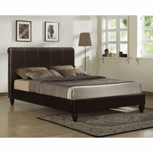 Lifestyle Vinyl Platform<br>Queen Bed