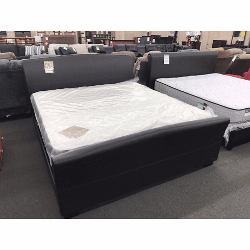 Lifestyle Vinyl Sleigh<br>King Bed