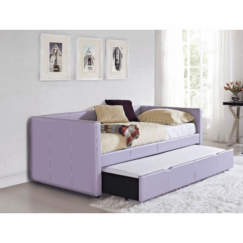 Lindsey Lavender Daybed w/Trundle by Standard
