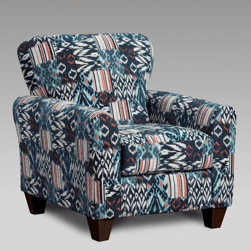 Medley Navy Chair<br>Affordable Furniture