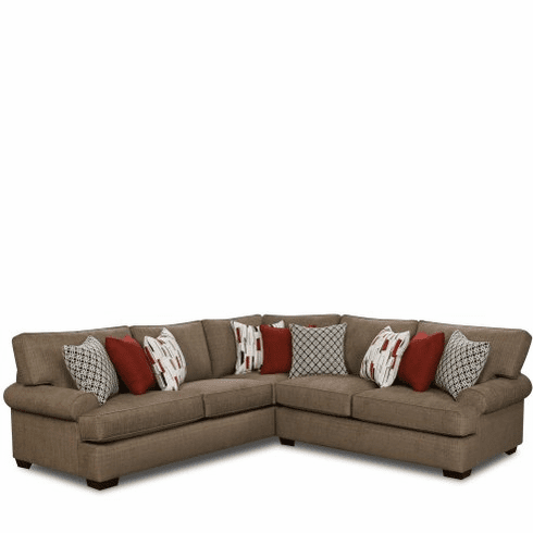 Montero Mocha 2 Piece Sectional by Corinthian