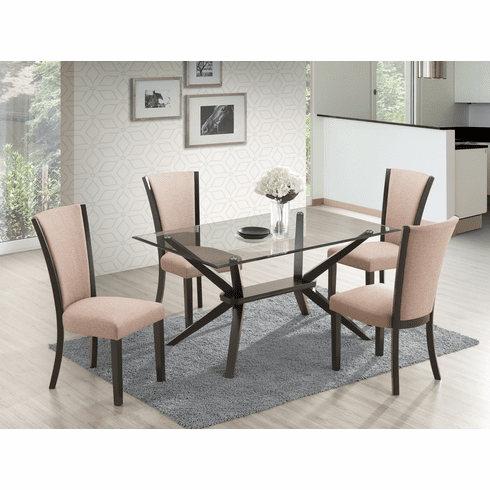 New Classic Ming 5 Piece<br>Dining Set