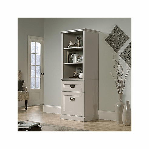 New Grange Tall Cabinet by Sauder