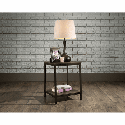 North Avenue Smoked Oak Side Table by Sauder