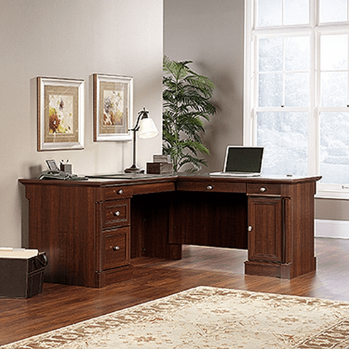 Palladia L-Shaped Desk by Sauder