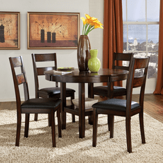 Pendwood Collection 5 Piece Dinette by Standard