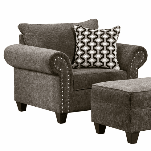 Reed Charcoal Chair by Lane Furniture