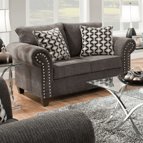 Reed Charcoal Loveseat by Lane Furniture