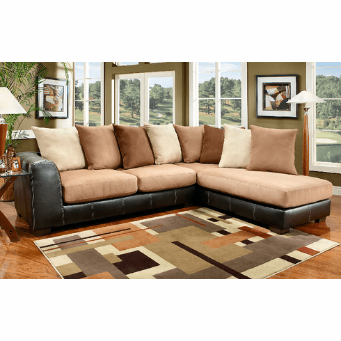 Sea Rider Saddle Sectional by Affordable <font color=red>*Best Seller!</font color>