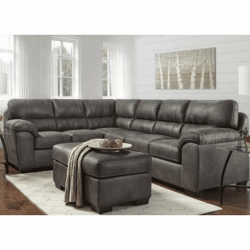 Affordable Sequoia Ash<br>2 Piece Sectional