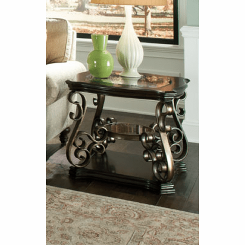 Seville End Table by Standard