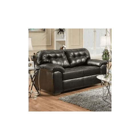 Showtime Onyx Loveseat<br>Simmons Furniture