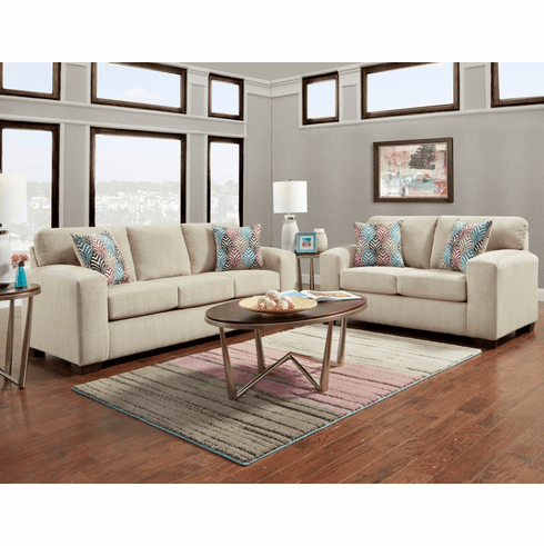 Silverton Platinum Sofa by Affordable