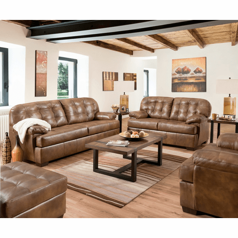 Lane Furniture<br>Chaps Leather Sofa