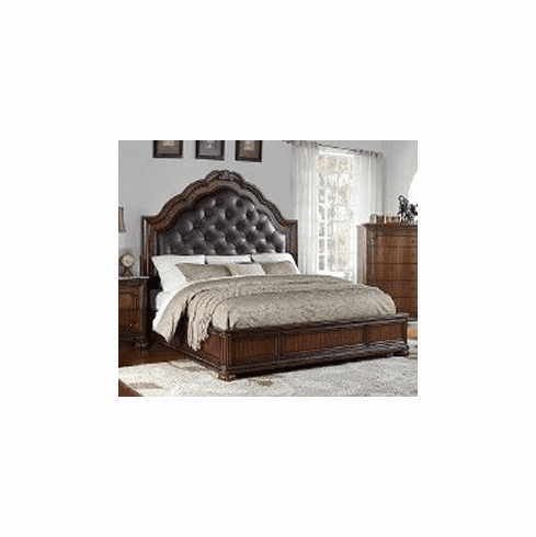 St Claire Queen Bed with Rails