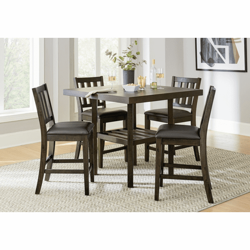 Standard Arlo 5 Piece Counter Dining Set