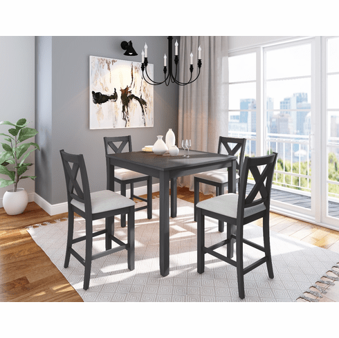 Standard Sandpiper 5 Piece Counter Dining Set