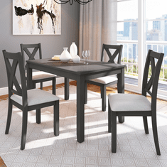 Standard Sandpiper Gray 5 Piece Dining Set