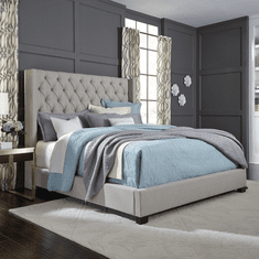 Standard Westerly Light Grey<br>King Bed