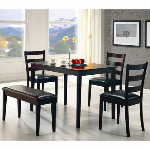 Coaster Cappuccino 5 Piece Dining Set