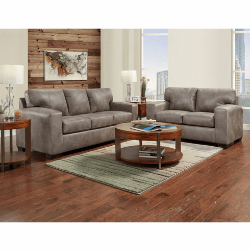 Telluride Latte Sofa by Affordable