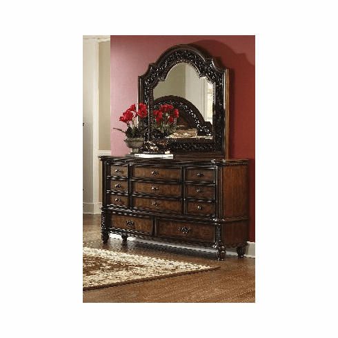 Tuscano Dresser and Mirror by Lee Furniture