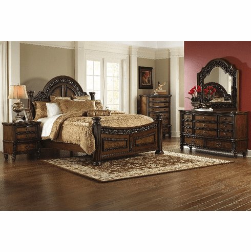 Tuscano King Size Bedroom Group by Lee Furniture