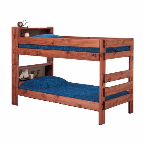 Twin/Twin Bookcase Bunkbed by Pine Crafter