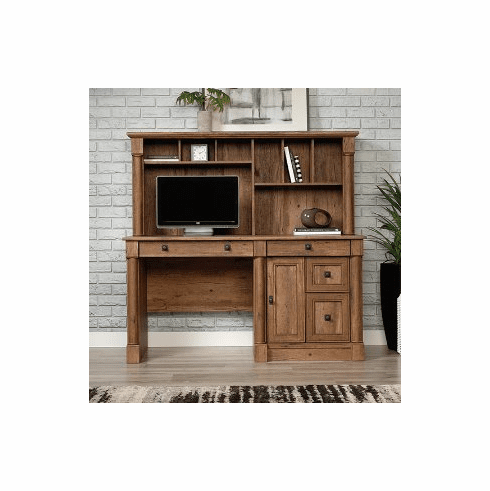 Vine Crest Computer Desk w/Hutch by Sauder