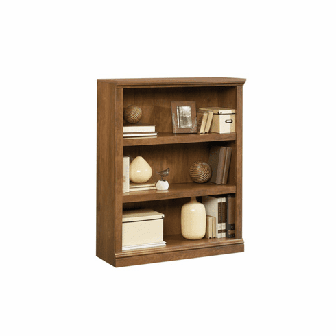 Warm Oak 3 Shelf Bookcase by Sauder