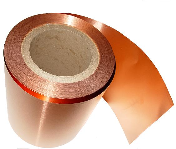 1 Mil Bulk Copper Rolls/ 25 lbs. each