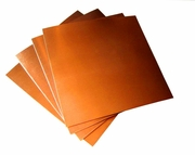 """16 Mil/ 12"""" X 12"""" Copper Sheets (pk of 4)"""