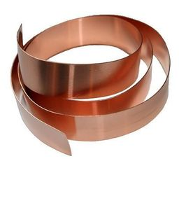 "Cookie Cutter Copper Strip/ 1"" X 100'"