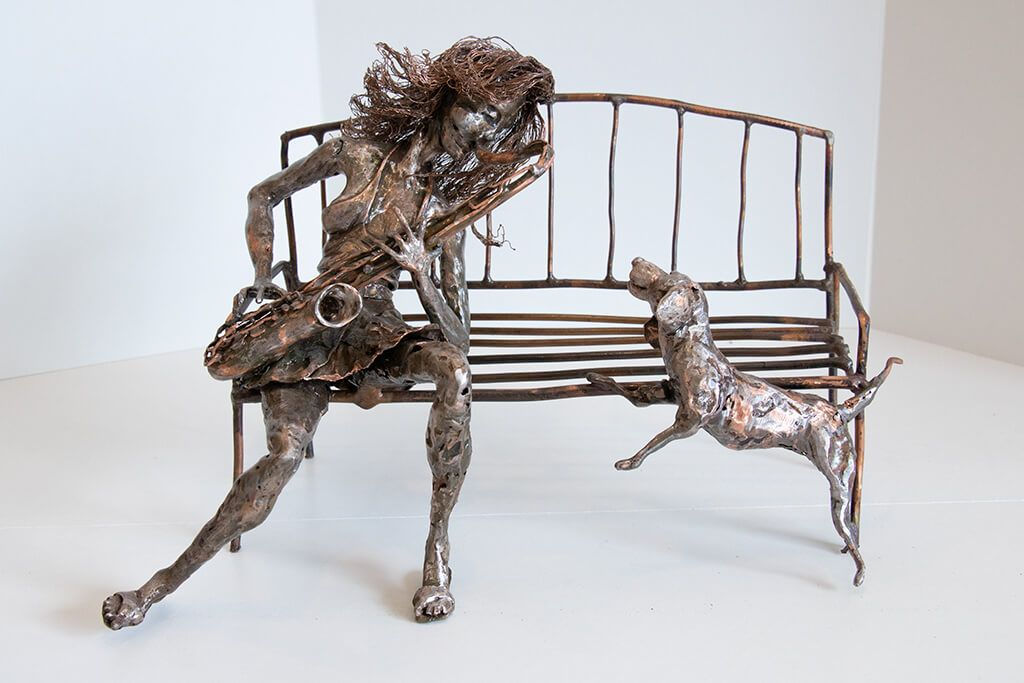 Copper Sculptures by Weirswires.com