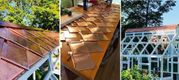 DIY Copper Roofing Project by Jeff from Belfast, ME.