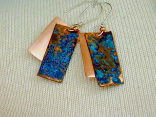 Copper Jewelry by Teresa Robertson of TRDesigns