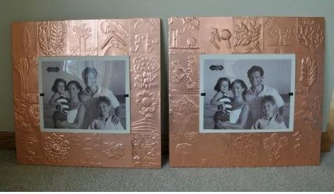 Copper Picture Frame DIY Project