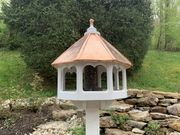 Birdhouse Roof with 30 Gauge Copper Sheet Metal