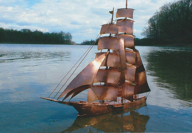 Copper Ships by Art Short