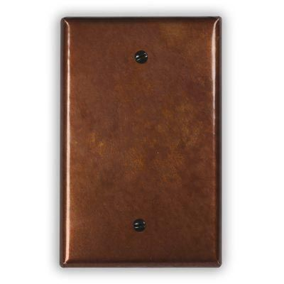 1-Blank Copper Wall Plate