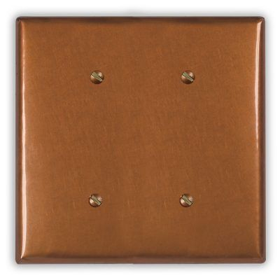 2-Blank Copper Wall Plate