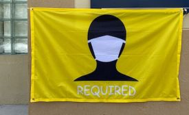 3' x 5' FACE MASK REQUIRED Commercial Flag