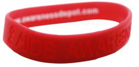 AIDS Awareness Silicone Bracelet