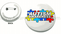 Autism Awareness Button - 1 1/2""