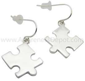 Autism Awareness Puzzle Piece Earrings