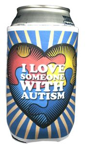 Autism Coolie Can Wrap...I Love Someone With Autism