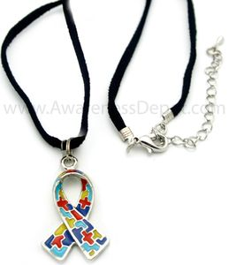 Autism Rope Necklace