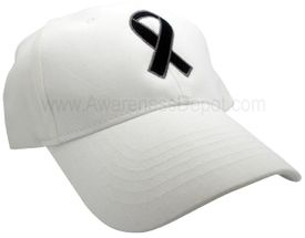 Awareness Ribbon Hat - Black