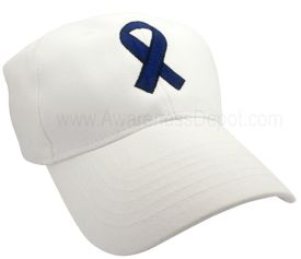 Awareness Ribbon Hat - Dark Blue