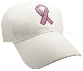 Awareness Ribbon Hat - Lavender